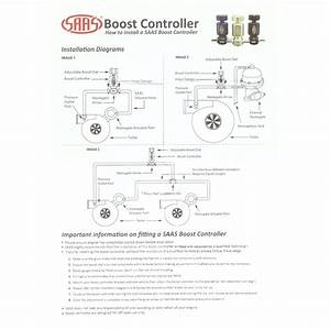 Manual Boost Controller Install Instructions