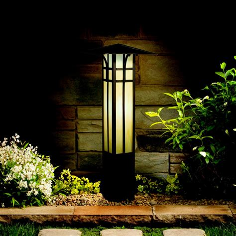 Kichler 15458oz Outdoor 21 Inch Tall Olde Bronze Craftsman
