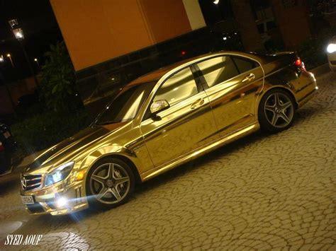 mercedes benz jeep gold chrome gold modifications quot mercedes benz quot c63 amg