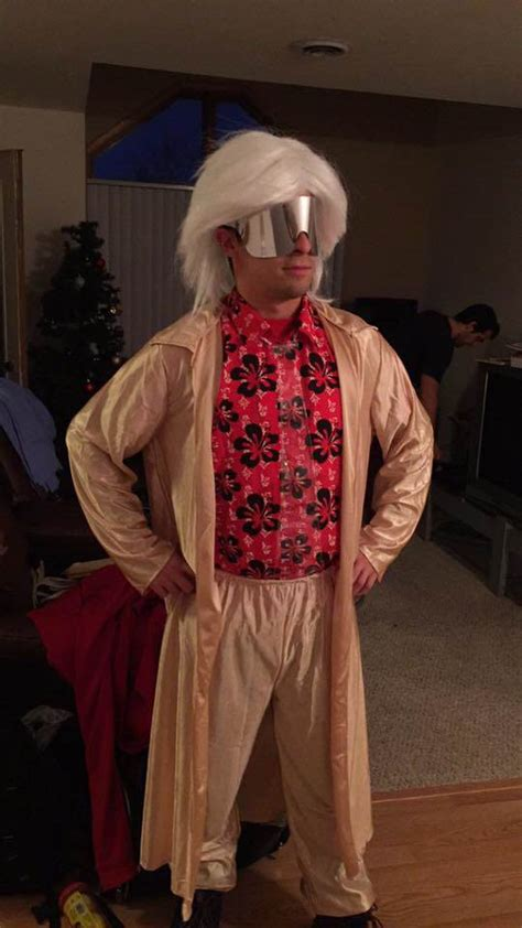 doc brown costume back to the future 2015 doc brown costume