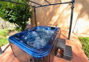 toskana ferienhaus mit 10000qm garten internet sauna With französischer balkon mit whirlpool garten 6 personen
