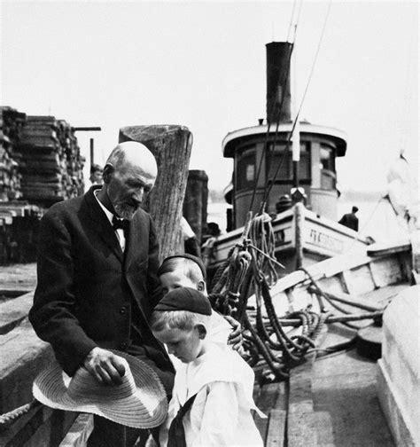 Joshua Slocum Boat by Adventurous Use Of The Sea The Cruising Club Of America