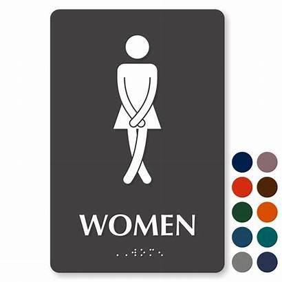 Bathroom Sign Funny Womens Signs Restroom Ladies