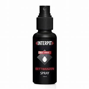 Bettwanzen Bekämpfen Spray : interpit bettwanzen spray hochwirksam bettwanze ~ Watch28wear.com Haus und Dekorationen