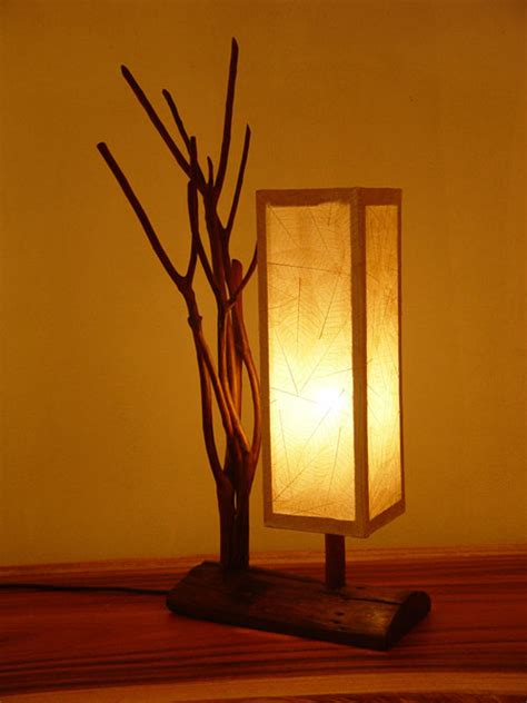 homeofficedecoration wood lamps designs