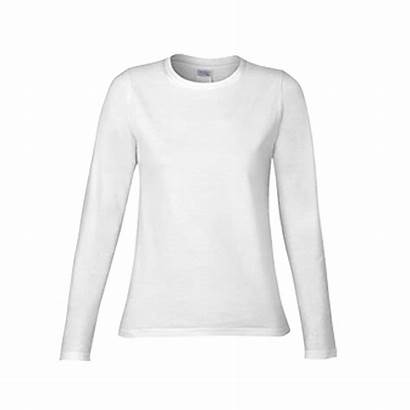 Shirt Sleeve Cotton Plain Shirts Ladies Premium