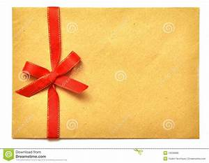 letter with red ribbon royalty free stock photo image With letter with ribbon