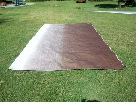 Rv Awnings Replacement Fabric by Rv Awning Replacement Fabric A E Dometic Brown Fade 19 Ft