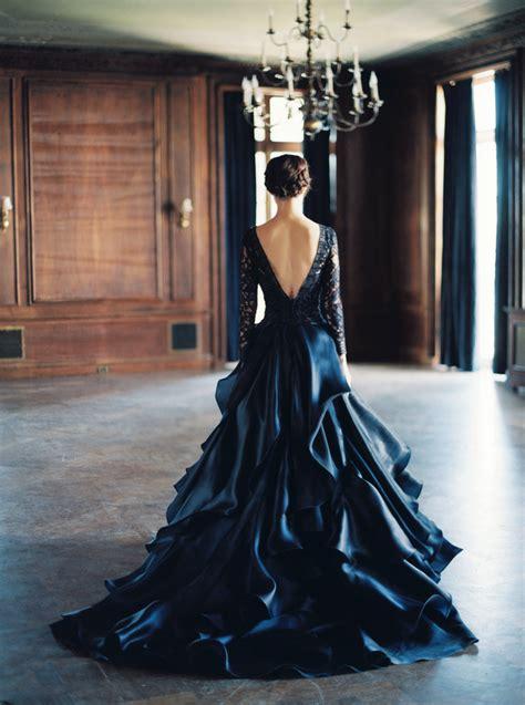 incredible black wedding dresses