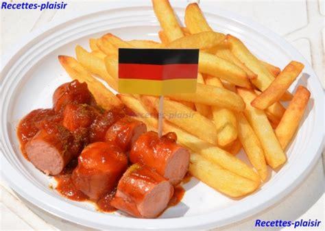 recette de cuisine allemande currywurst recettes plaisir rpetiteetoile