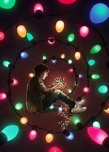 Stranger, Things, Colorful, Lights, Artwork, Netflix, Wallpapers, Hd, Desktop, And, Mobile, Backgrounds