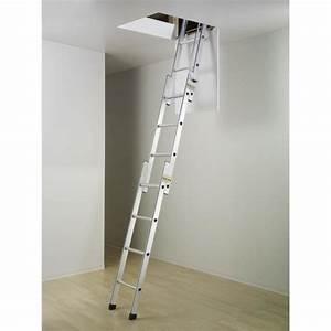 Escalier Escamotable Grenier : hailo echelle de grenier escamotable 3m hobbystep ~ Melissatoandfro.com Idées de Décoration