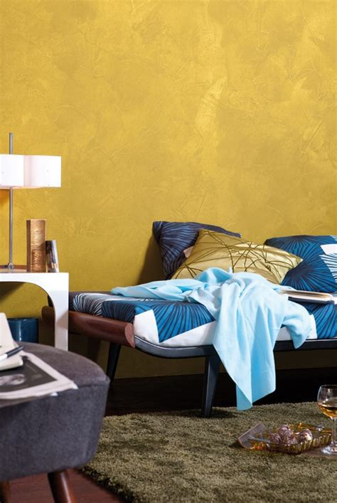 gold farbe wand test innenfarben wand alpina farben goldrausch sehr gut