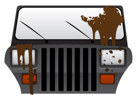 jeep wrangler icon jeep wrangler yj icon vector images clipart me