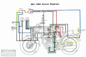 Xs650  70 Xs1 Wiring Diagram