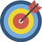 Objetivo Icon Icons Icono Premium Iconos Arrows