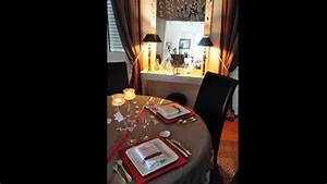 decoration de table rouge taupe blanc youtube With deco chambre taupe et blanc