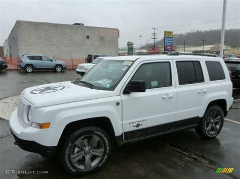 jeep patriot white 2013 bright white jeep patriot oscar mike freedom edition