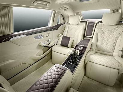 Maybach Mercedes Pullman Interior Massive Unveiled Stately