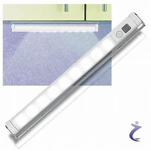 Led Lichtleiste Kabellos : lunartec led lichtleiste mit bewegungsmelder kaltwei batteriebetrieben ebay ~ Orissabook.com Haus und Dekorationen