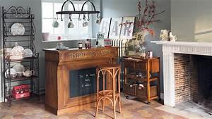 Salon De Jardin Bistrot : d coration salon style bistrot ~ Teatrodelosmanantiales.com Idées de Décoration