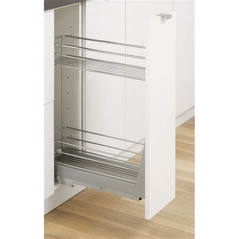 kaboodle mm  tier soft close pullout basket kitchen