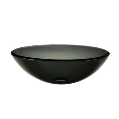 pegasus vessel sink in transparent charcoal 714102 the
