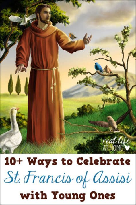 10 ideas for celebrating st francis of assisi with ones