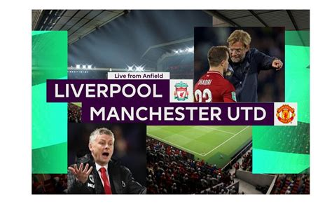 Predicted Manchester United lineup against Liverpool : The ...