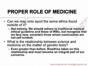 Why Athletes Need Genetic Enhancement