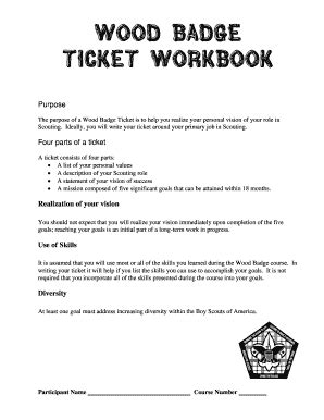 badge ticket fill online printable fillable blank