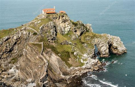 San Juan De Gaztelugatxe Church Basque Country Spain