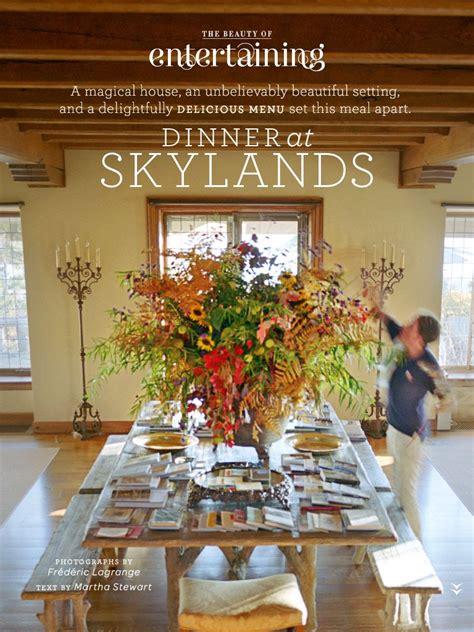 martha stewart s home in maine skylands decor ideas in
