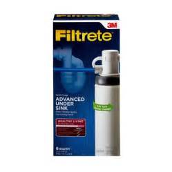 3m filtrete sink advanced water filtration system