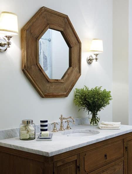 Octagon Bathroom Mirror by Octagonal Mirror Traditional Bathroom Para Paints