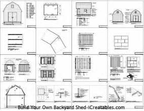 187 16 x 20 gambrel shed plans pdf shed plans 12 x 20 free onlineyourplans pdfshedplans