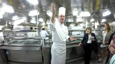 cruise ship kitchen gallery   holland america