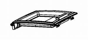 Dodge Grand Caravan Console  Center   Med Slate Gray  Lt