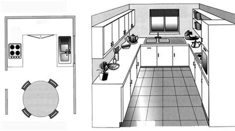 plan type de cuisine agencement cuisine plan cuisine gratuit pour s 39 inspirer
