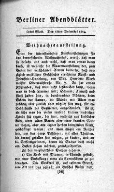 berliner abendblaetter wikipedia