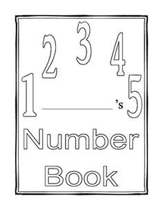 preschool number book my number book teaches number recognition for preschoolers 179