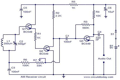 Khz Receiver Circuit The