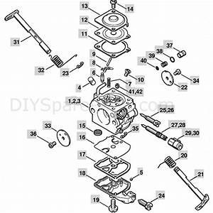 Stihl Ms 250 Chainsaw  Ms250 C  Parts Diagram  Carburetor C1q