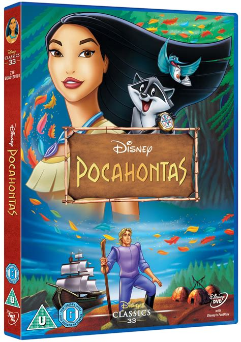 Pocahontas Disney Dvd Free Shipping Over £20 Hmv Store