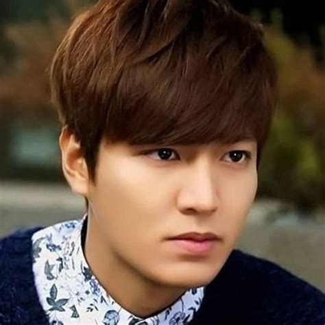 Hairstyle Lee Min Ho