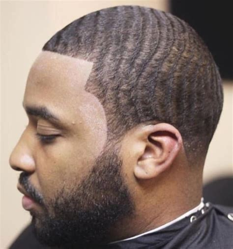 taper fade  waves  men  natural hairstyles