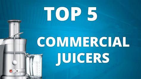 commercial juicer juice professional bars pressers