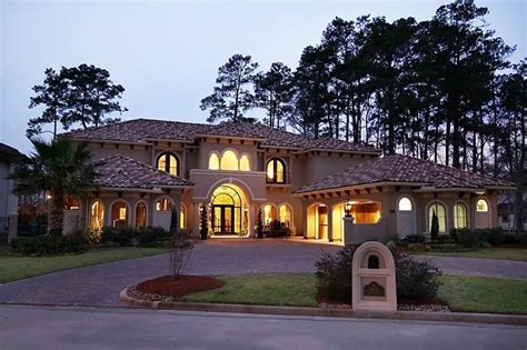 Spacious Mediterranean-style Home Located On Golf Course