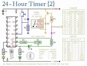 24 Hour Timer Circuit   Timer Electronic Tutorial