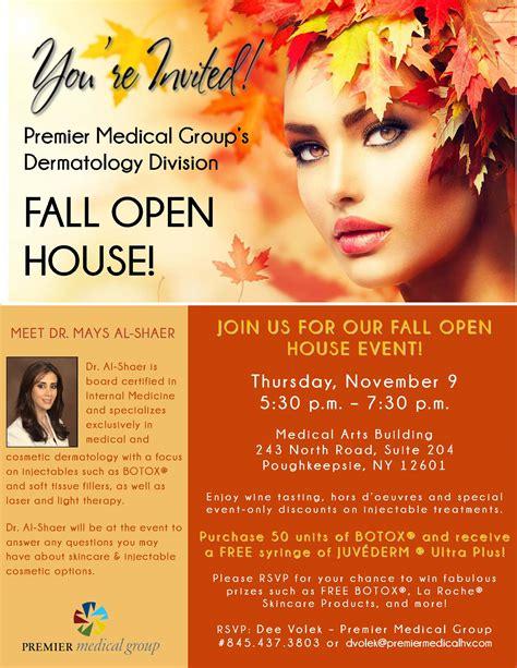 youre invited  premier medical groups dermatology